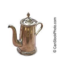 teakettle - Photo of teakettle isolated on a white...