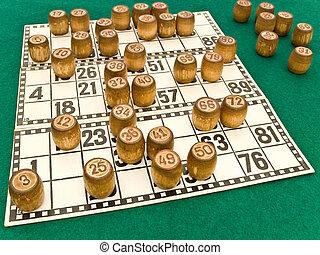 bingo - photo of the bingo casks on the cards