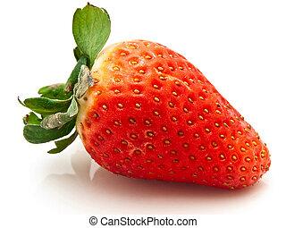 garden strawberry - photo of the delicious red garden...