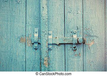 photo of the door