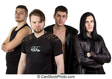 Photo of the metal band