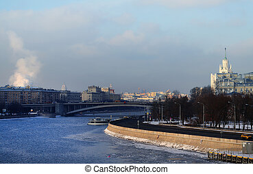 Photo of the Moscow river