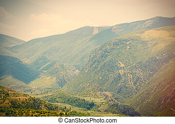 photo of the mountains