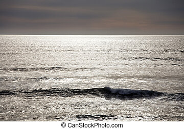 Pacific Ocean - Photo of the Pacific Ocean in winter near ...