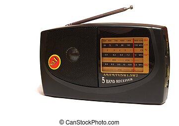 photo of the Radio set on white background