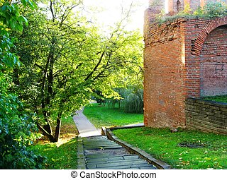 Smolensk fortress wall - Photo of the Smolensk fortress wall