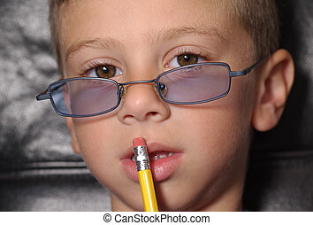 Toddler Thinking - Photo of Toddler Thinking and Holding a...