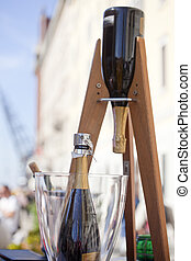 Sparkling wine - Photo of two big Sparkling wine
