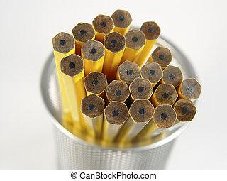 Unsharpened Pencils