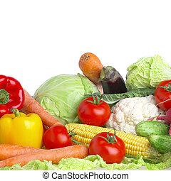 vegetables. Healthy food - Photo of various vegetables. ...