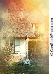 photo of village house