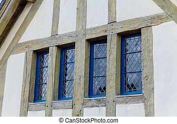 photo of windows on wall