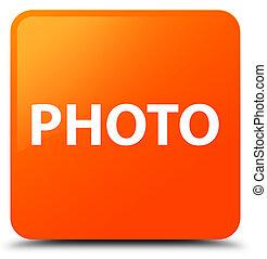 Photo orange square button
