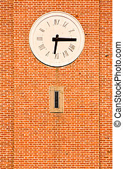 Classic Clock on the Tower