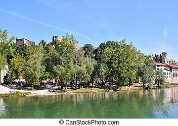 Photo Picture of the Medieval City Bassano del Grappa