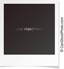 photo polaroid frame for your object - photo frame for your...
