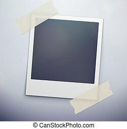 photo, polaroid, retro