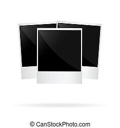 photo polaroid vector