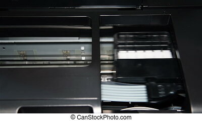 Photo Printer Printing - Continuous Ink Feed Printer...