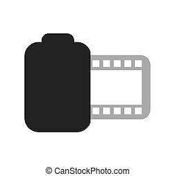 photo roll isolated icon