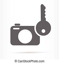 photo safety storage web icon