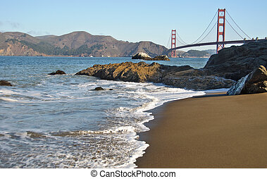 san francisco golden gate by baker beach