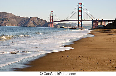 san francisco golden gate by baker beach