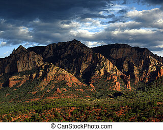 photo sandstone red scenic nature landscape, usa