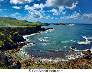 photo scenic capture from the ring of kerry, ireland