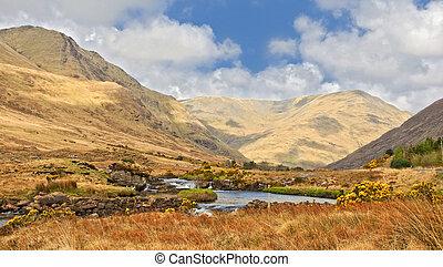 scenic nature landscape famous connemara protected landscape