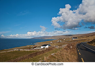 scenic picture landscape from the west of ireland