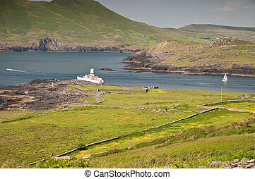 scenic rural countryside nature landscape in ireland