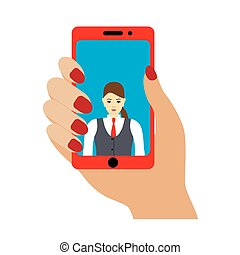photo, selfie, smartphone.
