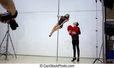 Pole dance photography.