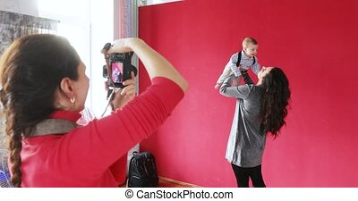 Photo session Moms with baby
