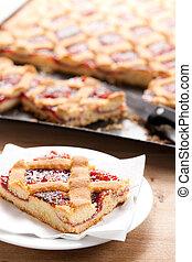 cake with jam