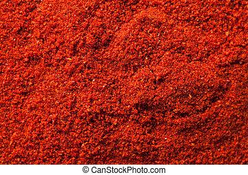spicy chili powder - photo shot of spicy chili powder