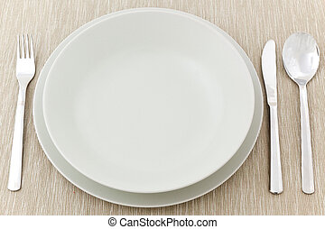 photo shot of table setting
