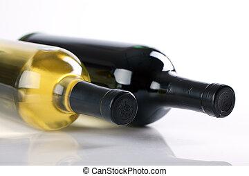 wine bottle - photo shot of wine bottle