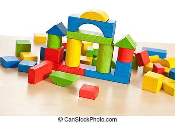 wooden toy blocks