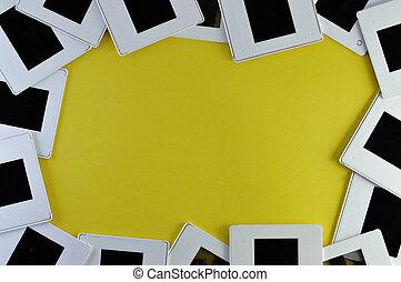 photo slide frame