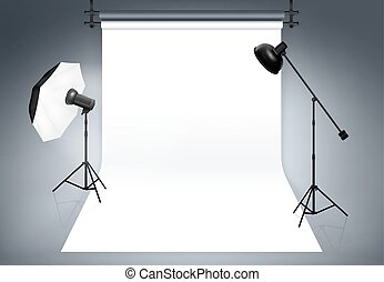 Photo studio background