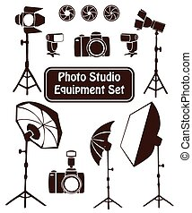 Photo studio set