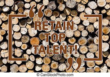photo, talent., message, sien, thoughts., vendange, sommet, idées, bois, texte, conceptuel, capacité, projection, intentions, fond, retenir, signe, bois, employés, garder, sauvage, organisation