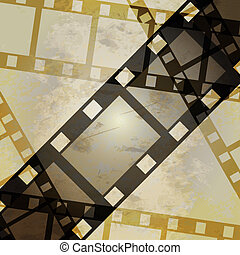 photo, vidéo, grunge, ou, pellicule