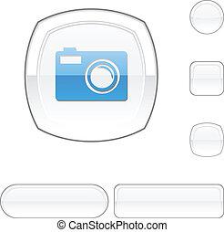 Photo white button.