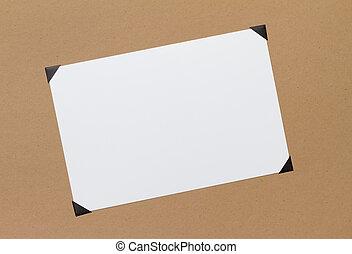 Photo with corners