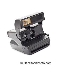 photocamera isolated on white