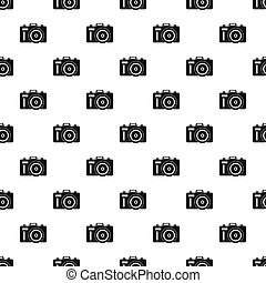 Photocamera pattern seamless in simple style  illustration