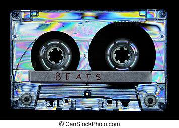 photoelasticity, birefringence, bande cassettee